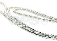 Nickel free bead chain necklace 90cm